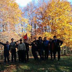 Campo invernale Monte livata (Subiaco) #roma51 #scout #ase