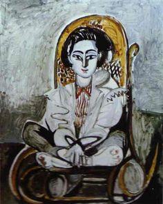 Pablo Picasso - Jacqueline Rocque, 1954  (Spanish artist, 1881–1973)