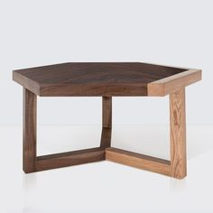 Wood Coffee Tables   Hexagon Coffee Table – The Citizenry