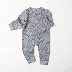 f4c28523069e Hendrix Knitted Romper 6 - 24M – Bitty Botty Baby Baby Outfits Newborn