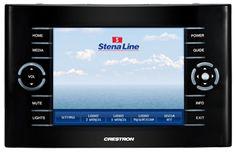 Touchpanelgrafik till Stenaline.