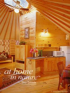 A yurt is part of our five year plan.
