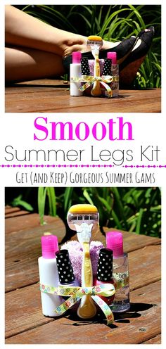 Get your legs summer ready and share the smooth with this summer legs kit featuring Venus Razors from Walmart! #ChooseYourSmooth #ad @shespeaksup