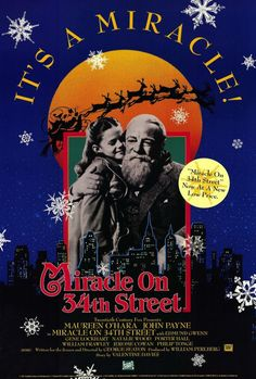 Miracle On 34th Street 27x40 Movie Poster (1947)