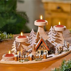 """Teelichthalter """"Advent"""" kaufen im Online Shop 3Pagen"""