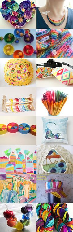 Color dizzy by Agnieszka on Etsy--Pinned with TreasuryPin.com