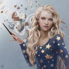 Luna Lovegood • by Serafima Brovkina