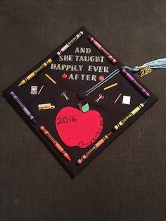 Elementary Educator's Graduation Cap.