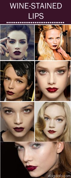 Wine Lips: A DDG Moodboard full of winter-worthy pouts - dropdeadgorgeousdaily.com