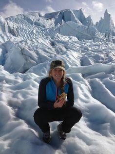 Visiting Alaska's Matanuska Glacier in a Camper Van