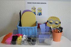Minion craft station