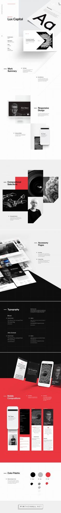 Web Design: Redesign of Lux Capital