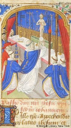 Book of Hours, MS M.1067 fol. 9r - Images from Medieval and Renaissance Manuscripts - The Morgan Library & Museum