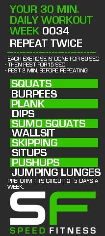 Stepping back towards more of a complete body workout this week.