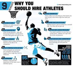 Reasons to hire athletes.