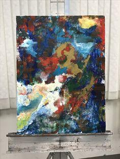 The Big Bang. Acrylic.