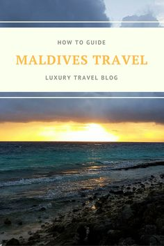 Our ULTIMATE guide to travel in the Maldives.