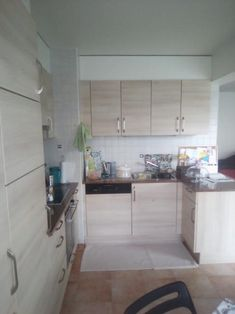 4 rooms on the floor in Onex (building minergi .: Spacious new and furnished 2 bedroom apartme Surface Habitable, 2 Bedroom Apartment, 2nd Floor, Living Spaces, Kitchen Cabinets, Flooring, Ainsi, Building, Rooms