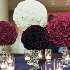 When tightly bundled together or arranged in a sphere shape, these carnations are a beautiful and money friendly solution to floral design.