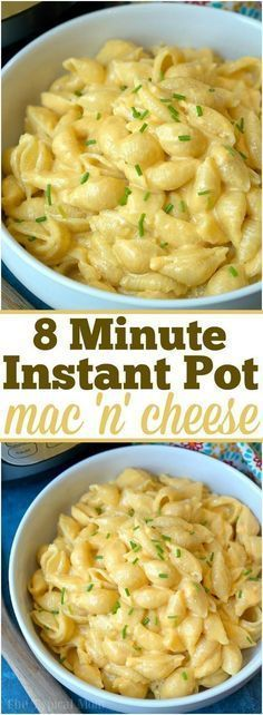 The best 4 ingredient Instant Pot macaroni and cheese recipe ever! Just 8 minute… The best 4 ingredient Instant Pot macaroni and cheese recipe ever! Just 8 minutes to the perfect pressure cooker macaroni and cheese with bacon. Crock Pot Recipes, Cooking Recipes, Healthy Recipes, Cooking Tips, Beef Recipes, Good Recipes, Cooking Lamb, Italian Cooking, Cooking Classes