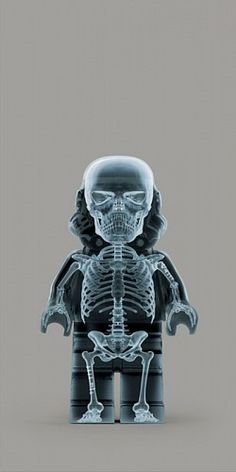 Dale May, X-Ray Trooper 2011, Photograph / LEGO WARS at Samuel Owen Gallery in Greenwich CT