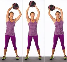 The latest tips and news on Medicine Ball Exercises are on POPSUGAR Fitness. On POPSUGAR Fitness you will find everything you need on fitness, health and Medicine Ball Exercises. Standing Ab Exercises, Standing Abs, Ab Moves, Stretching, Pilates, Fitness Diet, Fitness Motivation, Health Fitness, Cycling Motivation