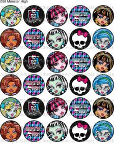Monster High printables