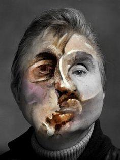 Francis Bacon, Self David Hockney Portraits, Jenny Saville, Amédéo Modigliani, Francis Picabia, Paintings Famous, Identity Art, Portrait Art, Pencil Portrait, Art Plastique