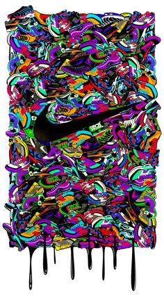 Nike T-shirts Projects / Footlocker by Michal Bialogrzywy, via Behance