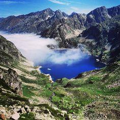 «Vue sur le lac d'Artouste depuis Arrius. C'est bon de revoir ses classiques.  #mypyrenees»