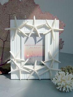 Starfish frame for my nautical theme