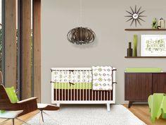 Minimalist wood lounge