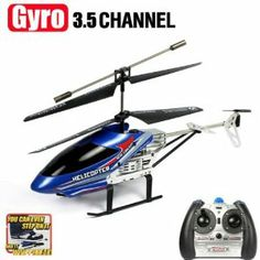 Blue Cool Model King 3.5CH IR RC Remote Control Withstand Shatterproof Gyro Helicopter by amtonsee@gmail.com. $26.88. A amazing gift for your kid,It will bring your kid lots of fun.. Quantity: 1pcs. The Helicopter is Unbreakable, its body can take up to 200 pounds of force.. 100% Brand new and high quality.. Easy and Convenient to use for children.. 1.Model: Model King 33015 2.Channel: 3.5 3.Control Mode: 2.4GHz Radio Remote Control 4.Flight time: 5-6 minutes 5.Ch...