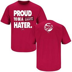 Arizona Cardinals Fans. Proud to be a Seahawks Hater. T-Shirt