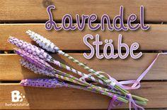 Duftbeutelchen sind doch langweilig. Probiers mal mit duftenden Lavendel Stäben! Mit dieser einfachen Anleitung erfährst du wie man Lavendel Stäbe macht!