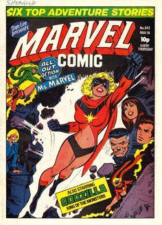 Marvel UK #MsMarvel
