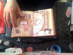 Vintage style journal - YouTube
