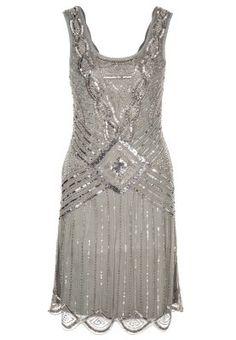 ATHENA - Cocktailkleid / festliches Kleid - grau