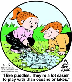 How kids see puddles :)