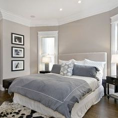 Paint Color Hampshire Taupe 990 Paint or Benjamin Moore Grege Avenue.