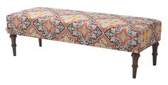 Jennifer Taylor Bently Bench in Multi Color