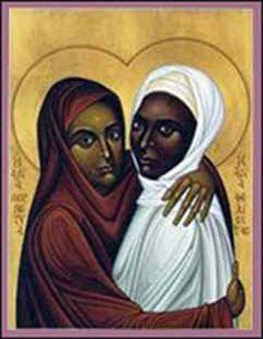 Saints Perpetua and Felicitas (Felicity)