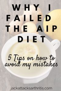 The Autoimmune Protocol can be such a life changing diet. But first you have to get past the hard parts. Click to read through why my attempt wasn't successful, and what you can do to find healing!