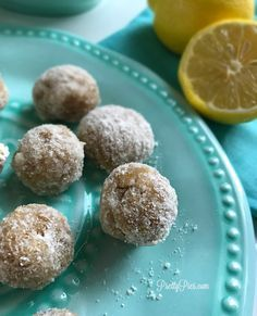 Tons of lemon flavor packed into these little bites of heaven. Made from just a handful of healthy whole foods (and NO sugar of any kind!)