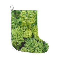 Green cabbage, Christmas stocking