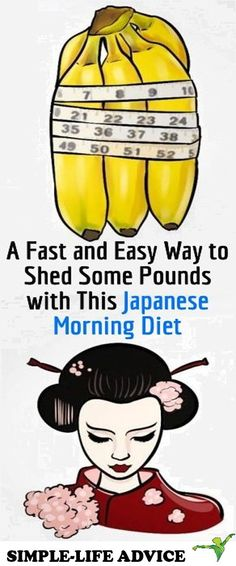A Fast and Easy Way to Shed Some Pounds with This Japanese Morning Diet -