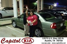 https://flic.kr/p/F3wU97 | Happy Anniversary to Anne on your #Chevrolet #Malibu from John Coston at Capitol Kia! | deliverymaxx.com/DealerReviews.aspx?DealerCode=RXQC