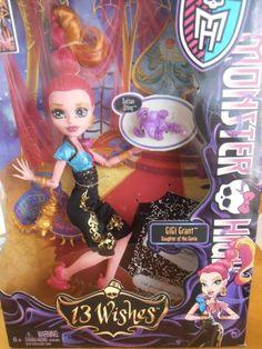 Monster High Doll-GiGi Grant Daughter of the Genie!!!!