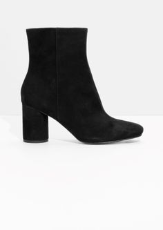 & Other Stories   High Shaft Suede Boots