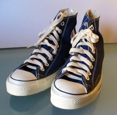 431ee8a9ec8d Vintage Converse Chuck Taylor All Star High Tops Made in USA